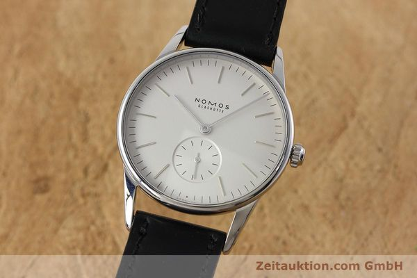 NOMOS ORION ACERO CUERDA MANUAL KAL. ALPHA LP: 1400EUR [152632]