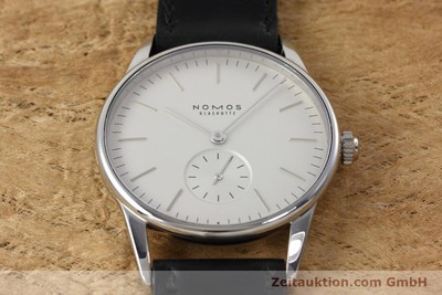 NOMOS ORION STEEL MANUAL WINDING KAL. ALPHA LP: 1400EUR [152632]