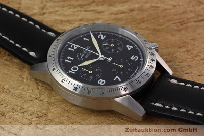 GLASHÜTTE ORIGINAL NAVIGATOR CHRONOGRAPH HERREN GLASBODEN GUB 10-60 VP: 7800,- Euro [152637]