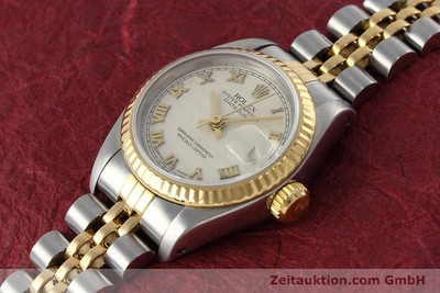 ROLEX LADY DATEJUST STEEL / GOLD AUTOMATIC KAL. 2135 LP: 6950EUR [152640]