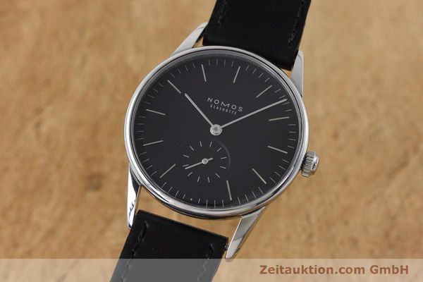 NOMOS ORION STEEL MANUAL WINDING KAL. ALPHA LP: 1400EUR [152648]
