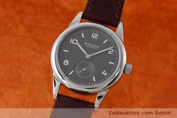 NOMOS CLUB STEEL MANUAL WINDING KAL. ALPHA LP: 1080EUR [152650]