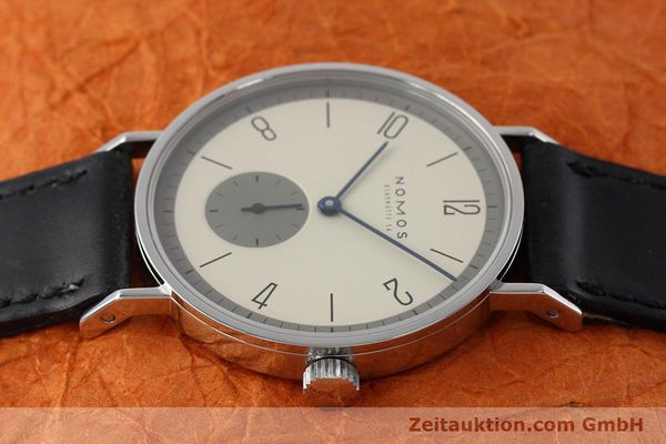 Used luxury watch Nomos Tangente steel manual winding Kal. ETA 7001  | 152651 05
