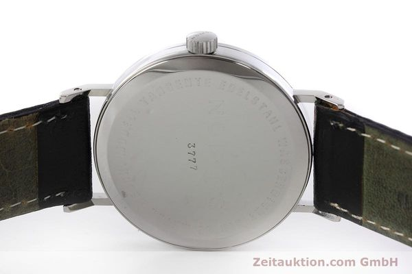 Used luxury watch Nomos Tangente steel manual winding Kal. ETA 7001  | 152651 09