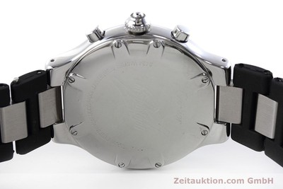 CARTIER CHRONOSCAPH 21 CHRONOGRAPH HERRENUHR MEDIUM STAHL / KAUTSCHUK [152652]