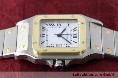 CARTIER SANTOS STEEL / GOLD AUTOMATIC KAL. ETA 2671 LP: 7100EUR [152660]