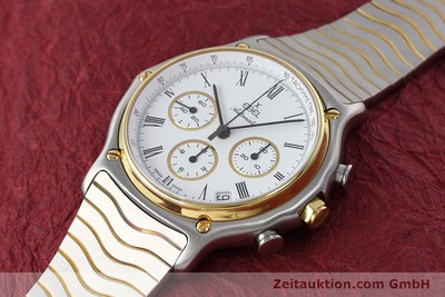 EBEL 1911 CHRONOGRAPH STEEL / GOLD AUTOMATIC KAL. 134 [152663]