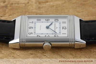 JAEGER LE COULTRE REVERSO ACCIAIO CARICA MANUALE KAL. 846/1 [152676]