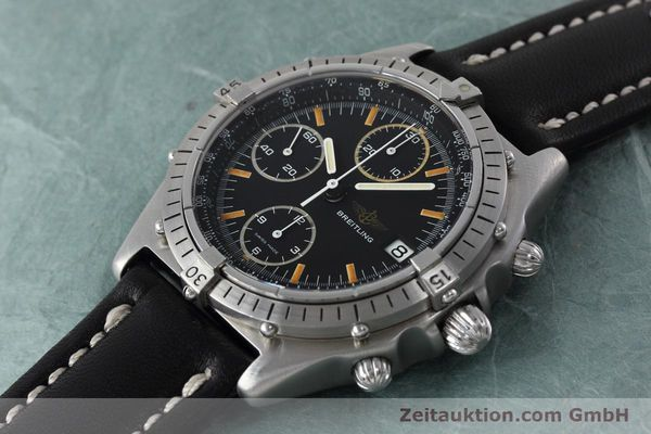 Used luxury watch Breitling Chronomat chronograph steel automatic Kal. Val 7750 Ref. 81950  | 152677 01