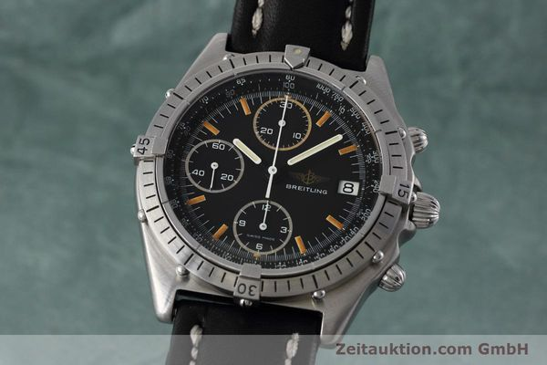 Used luxury watch Breitling Chronomat chronograph steel automatic Kal. Val 7750 Ref. 81950  | 152677 04