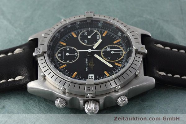 Used luxury watch Breitling Chronomat chronograph steel automatic Kal. Val 7750 Ref. 81950  | 152677 05