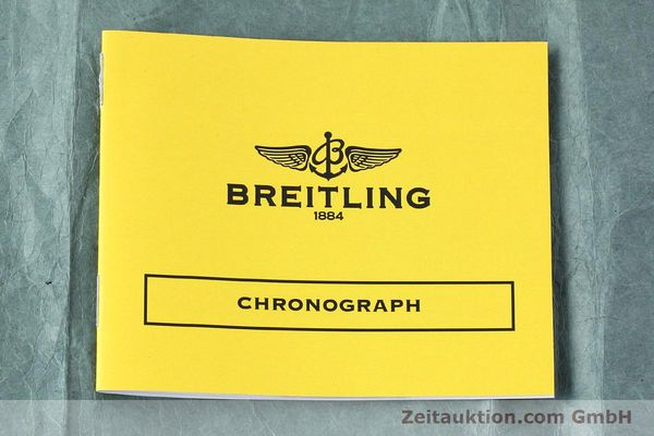Used luxury watch Breitling Chronomat chronograph steel automatic Kal. Val 7750 Ref. 81950  | 152677 11