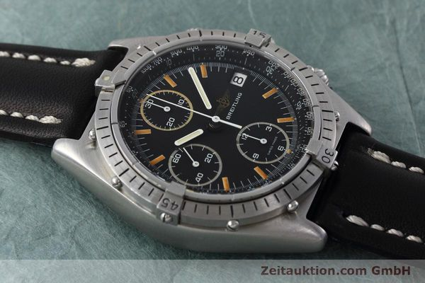 Used luxury watch Breitling Chronomat chronograph steel automatic Kal. Val 7750 Ref. 81950  | 152677 13
