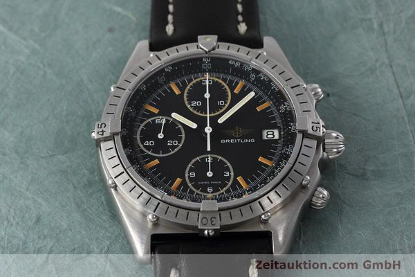 Used luxury watch Breitling Chronomat chronograph steel automatic Kal. Val 7750 Ref. 81950  | 152677 14