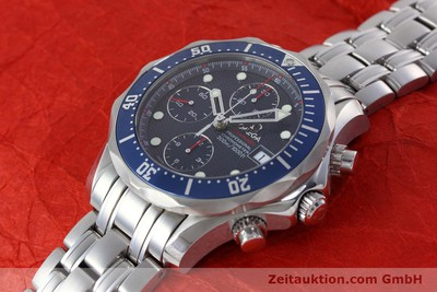 OMEGA SEAMASTER CHRONOGRAPH STEEL AUTOMATIC KAL. 1164 B LP: 4440EUR [152678]