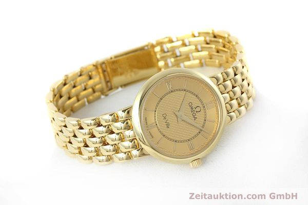 Used luxury watch Omega De Ville 18 ct gold quartz Kal. 1471  | 152684 03