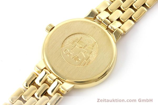 Used luxury watch Omega De Ville 18 ct gold quartz Kal. 1471  | 152684 08