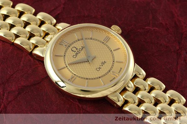 Used luxury watch Omega De Ville 18 ct gold quartz Kal. 1471  | 152684 14