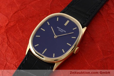 PATEK PHILIPPE ELLIPSE OR 18 CT REMONTAGE MANUEL KAL. 23-300 [152693]
