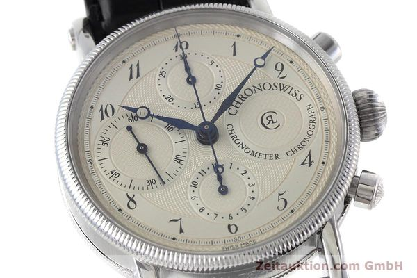 Used luxury watch Chronoswiss * chronograph steel automatic Kal. 754 Ref. CH7523  | 152697 02