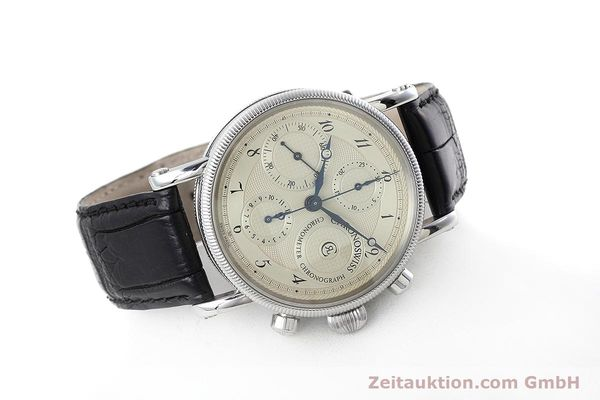 Used luxury watch Chronoswiss * chronograph steel automatic Kal. 754 Ref. CH7523  | 152697 03