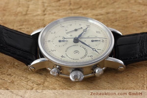 Used luxury watch Chronoswiss * chronograph steel automatic Kal. 754 Ref. CH7523  | 152697 05