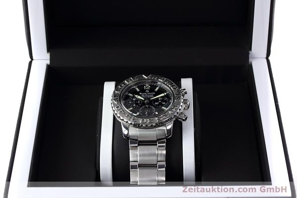 Used luxury watch Blancpain Air Command chronograph steel automatic Kal. F185  | 152700 07