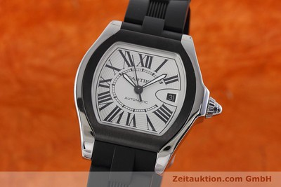 CARTIER ROADSTER STEEL AUTOMATIC KAL. 049 ETA 2892A2 LP: 4300EUR [152716]