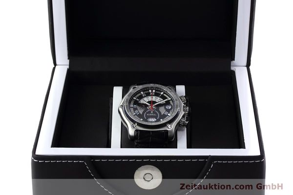 Used luxury watch Ebel 1911 chronograph steel automatic Kal. 139 Ref. E9139L72  | 152717 07
