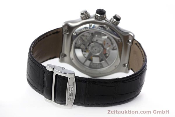 Used luxury watch Ebel 1911 chronograph steel automatic Kal. 139 Ref. E9139L72  | 152717 11