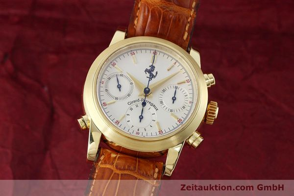 GIRARD PERREGAUX FERRARI CHRONOGRAPHE OR 18 CT AUTOMATIQUE KAL. 8290 LP: 28500EUR [152720]