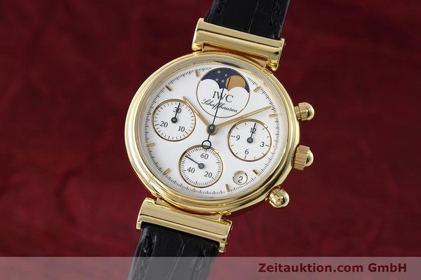 IWC DA VINCI CHRONOGRAPH 18 CT GOLD QUARTZ KAL. 630 [152745]