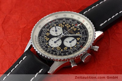BREITLING NAVITIMER CHRONOGRAPH STEEL MANUAL WINDING KAL. LWO 1324 LP: 7240EUR [152753]