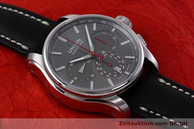 UNION GLASHÜTTE BELISAR CHRONOGRAPH STEEL AUTOMATIC KAL. U7753 LP: 2350EUR [152755]