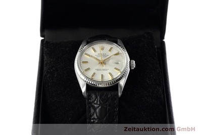 ROLEX DATEJUST STEEL / WHITE GOLD AUTOMATIC KAL. 3035 LP: 6350EUR [152758]