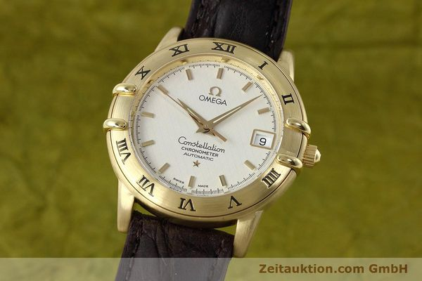 OMEGA 18K GOLD CONSTELLATION CHRONOMETER AUTOMATIK DATUM VP: 6710,- EURO [152764]