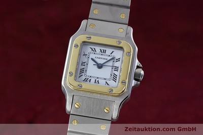 CARTIER SANTOS STEEL / GOLD AUTOMATIC KAL. ETA 2670 LP: 5600EUR [152766]
