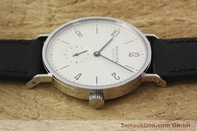 NOMOS TANGENTE STEEL MANUAL WINDING KAL. ETA 7001 LP: 1320EUR [152775]