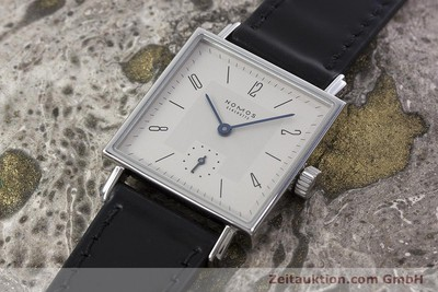 NOMOS TETRA STEEL MANUAL WINDING KAL. ALPHA LP: 1440EUR [152778]