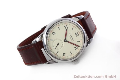 NOMOS CLUB STEEL MANUAL WINDING KAL. ALPHA 34644 LP: 1080EUR [152793]