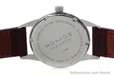 NOMOS CLUB ACERO CUERDA MANUAL KAL. ALPHA 34644 LP: 1080EUR [152793]