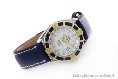 BREITLING LADY J CLASS STAHL / GOLD DAMENUHR TOP D52065 VP: 2290,- EURO [152800]