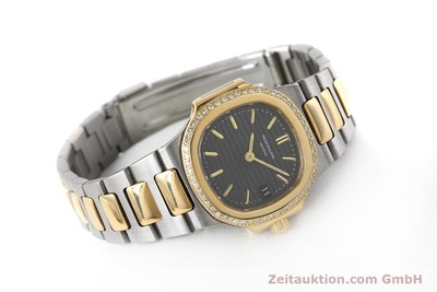 PATEK PHILIPPE LADY NAUTILUS GOLD/STAHL DIAMANTEN 4700/002 DAMENUHR VP: 20460,-Euro [152803]