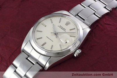 ROLEX PRECISION STEEL MANUAL WINDING KAL. 1225 VINTAGE [152811]