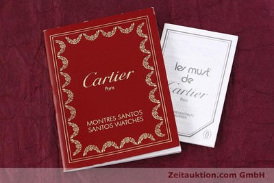 CARTIER SANTOS STEEL / GOLD QUARTZ KAL. 687 LP: 5600EUR [152815]