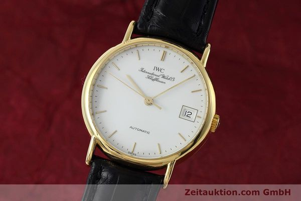 IWC PORTOFINO 18 CT GOLD AUTOMATIC KAL. 37521 LP: 10700EUR [152822]
