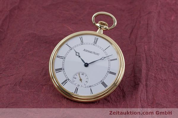 Used luxury watch Audemars Piguet Pocket Watch 18 ct gold manual winding Kal. 5020  | 152830 04