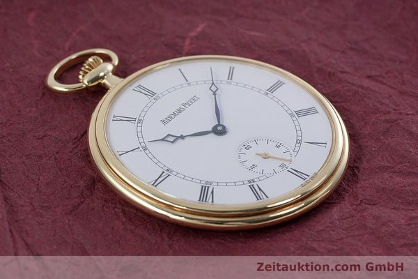 Used luxury watch Audemars Piguet Pocket Watch 18 ct gold manual winding Kal. 5020  | 152830 14