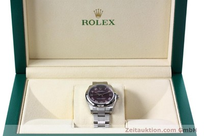 ROLEX LADY OYSTER PERPETUAL 31 STAHL AUTOMATIK DAMENUHR 177200 NP: 4250,- Euro [152831]