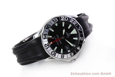 OMEGA SEAMASTER GMT CHRONOMETER EDELSTAHL 50 YEARS EDITION VP: 3200,- Euro [152847]